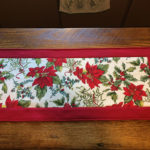 Holiday Table Runner Christmas Side