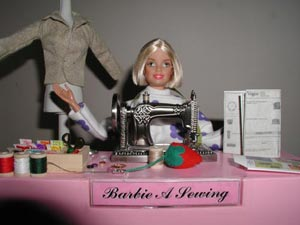 Barbie-A-Sewing Small Pic