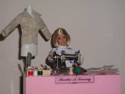 Barbie Going Back to Sewing