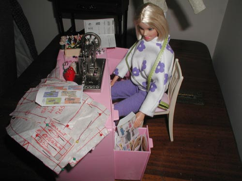 Barbie Getting Sewing Pattern